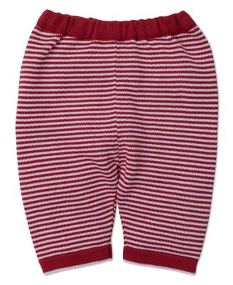 Kissy Kissy Baby Boys / Girls Red Striped Sweater Knit Pants