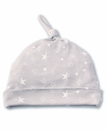 Kissy Kissy Baby Boys / Girls Silver Gray Starry Sky Hat