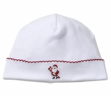 Kissy Kissy Baby Boys / Girls White Kris Kringle Santa Hat