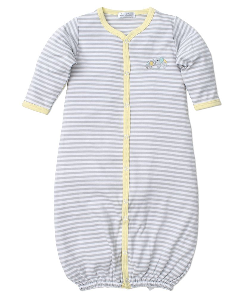 Kissy Kissy Baby Stripes Convertible Gown