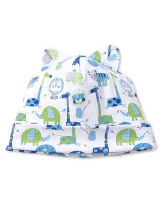 Kissy Kissy Baby Boys Jazzy Jungle Hat with Ears - Blue