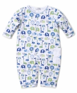 Kissy Kissy Baby Boys Jazzy Jungle Playsuit Romper - Blue