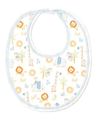 Kissy Kissy Baby Boys Jungle Joy Animals Print Bib