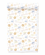 Kissy Kissy Baby Boys Jungle Joy Animals Print Blanket