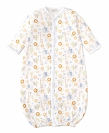 Kissy Kissy Baby Boys Jungle Joy Animals Print Converter Gown