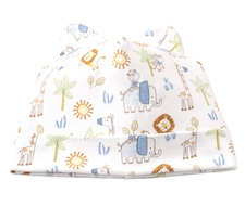 Kissy Kissy Baby Boys Jungle Joy Animals Print Hat with Ears