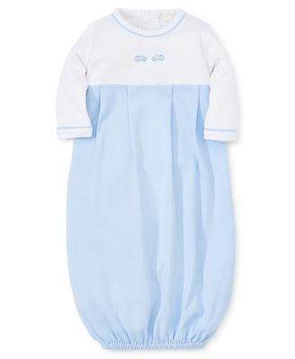 Kissy Kissy Baby Boys Light Blue Race Cars Sack Gown