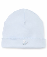 Kissy Kissy Baby Boys Light Blue Toy Ducks Embroidered Hat
