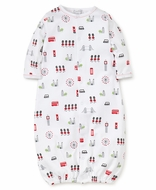 Kissy Kissy Baby Boys London Print Converter Gown