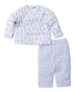 Kissy Kissy Baby Boys Monkey Moves Pant Set - Blue