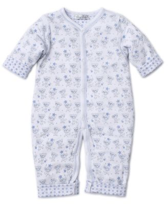 Kissy Kissy Baby Boys Monkey Moves Reversible Playsuit - Blue