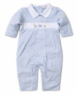 Kissy Kissy Baby Boys Premier Pull Toys Romper Playsuit - Blue