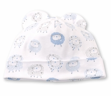 Kissy Kissy Baby Boys Shabby Sheep Hat - Blue