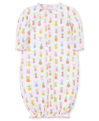 Kissy Kissy Baby Girls Colorful Pineapples Converter Gown