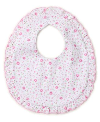 Kissy Kissy Baby Girls Garden Treasure Pink Floral Bib