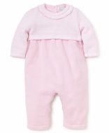 Kissy Kissy Baby Girls Indulgence Sweater Knit Playsuit Romper - Pink