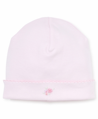Kissy Kissy Baby Girls Pink Embroidery Flowers Hat