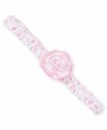 Kissy Kissy Baby Girls Pink Mini Blooms Flower Headband