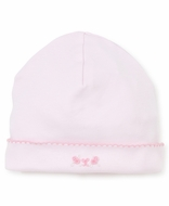 Kissy Kissy Baby Girls Pink Premier Rosebud Ribbons Embroidered Hat