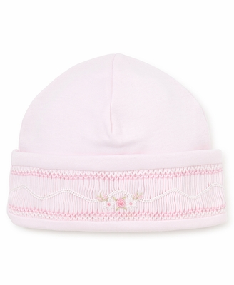 Kissy Kissy Baby Girls Sweet Pink Smocked Hat
