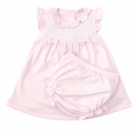 Kissy Kissy Baby Girls Pink Touch of Elegance Dress Set
