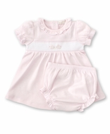 Kissy Kissy Baby Girls Premier Cottontails Pink Check Bunny Dress Set