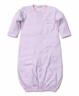 Kissy Kissy Baby Girls Premier Llama Family - Pink Converter Gown