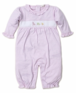 Kissy Kissy Baby Girls Premier Pull Toys Playsuit Romper - Pink