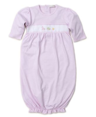 Kissy Kissy Baby Girls Premier Pull Toys Sack Gown - Pink