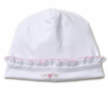 Kissy Kissy Baby Girls Premier Vines White / Pink Hat