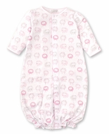 Kissy Kissy Baby Girls Shabby Sheep Converter Gown - Pink