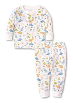 Kissy Kissy Boys Dino Dash Long Pajamas