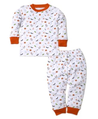 Kissy Kissy Boys / Girls Orange Halloween Fright Fest Pajamas