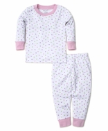Kissy Kissy Girls Dapple Dots Pink Long Pajamas