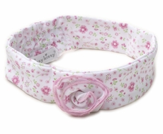 Kissy Kissy Girls Garden Treasure Pink Floral Headband
