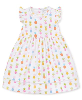 Kissy Kissy Toddler Girls Colorful Pineapples Print Dress