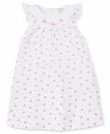 Kissy Kissy Toddler Girls Hot Pink Fuchsia Whales Dress