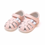L'Amour Angel Baby / Toddler Girls Christie Fisherman Sandals - Pink
