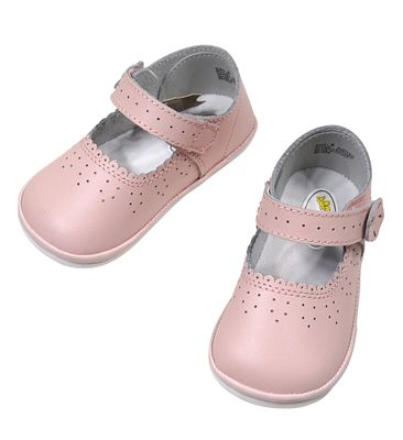 L'Amour Angel Baby / Toddler Girls Shoes - Mary Janes - Pink