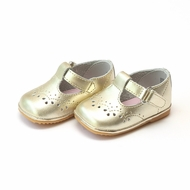 L'Amour Angel Baby / Toddler Girls T-Strap Shoes - Metallic Gold