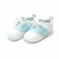 L'Amour Angel Baby / Toddler Saddle Oxfords Shoes - Sky Blue Patent