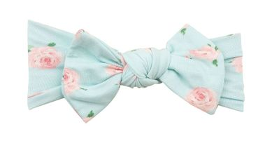 Angel Dear Girls Headband - Aqua Petite Rose