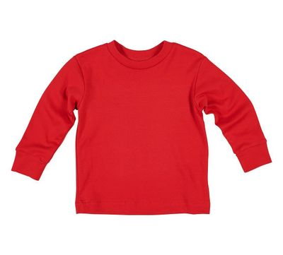 Florence Eiseman Baby / Toddler Boys Long Sleeved Knit Shirt - Red