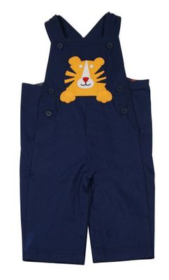 Florence Eiseman Baby Boys Navy Blue Tiger Longall