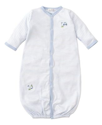 Kissy Kissy Baby-Boys Infant First Tee Stripe Convertible Gown