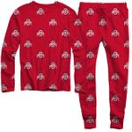 Wes and Willy LSU Tigers NCAA Kids Short Sleeve Pajama Set