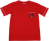 Lullaby Set Boys Anchors Aweigh Charlie Shirt - Red with Anchor Pocket