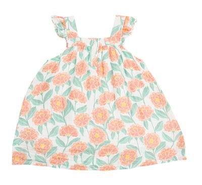 Angel Dear Toddler Girls Sun Dress - Marigold Garden