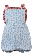 Lullaby Set Baby / Toddler Girls Abby Bubble - Blue Anchors Aweigh