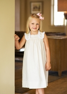 Lullaby Set Girls Khaki Tan Linen Faith Dress